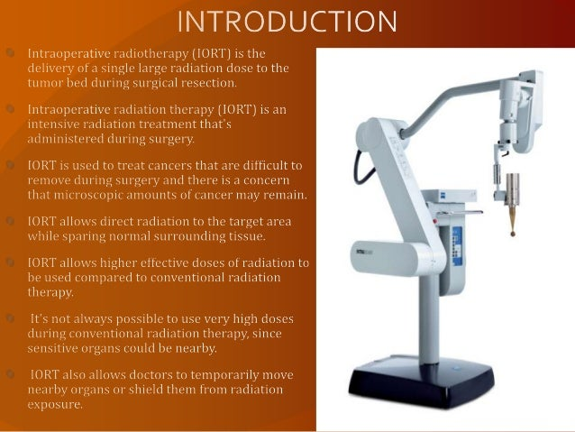 Intra Operative Radiotherapy Iort