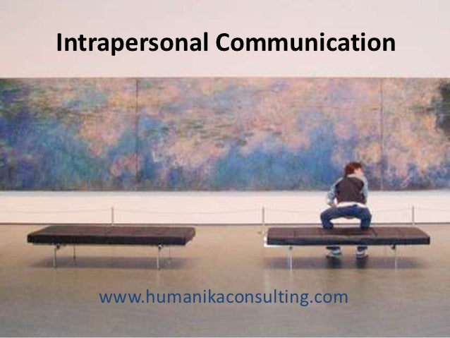 Intrapersonal Communication   www.humanikaconsulting.com