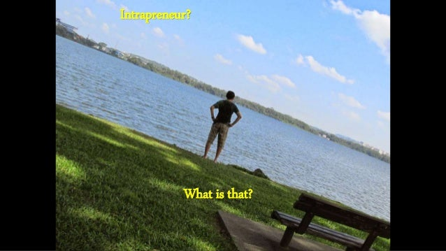 Intrapreneur?  What is that?