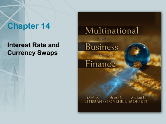Chapter 14 Interest Rate and Currency Swaps