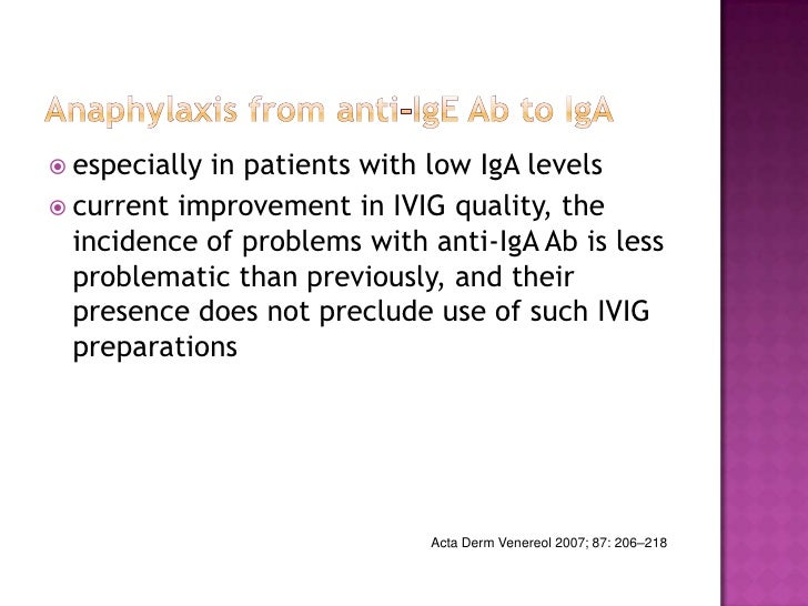 What are some potential concerns and complications with IVIG treatments?