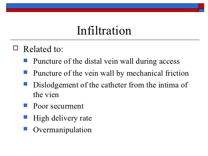 valium iv infiltrate signs