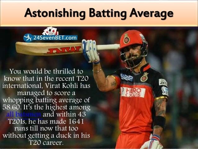 Interesting Fact About Virat Kohli - Online Cricket Betting Slide 3