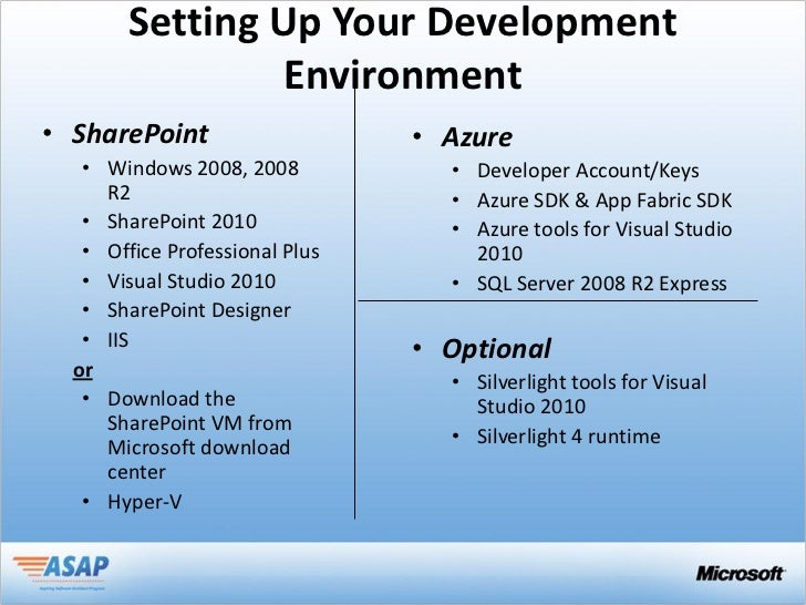 Intrgrating sps 2010 and windows azure - Visual studio tools for office runtime ...