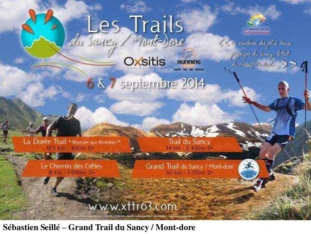 Sébastien Seillé – Grand Trail du Sancy / Mont-dore