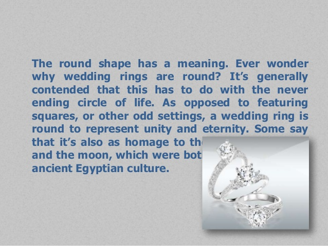 Symbolism Of Wedding Ring Wedding