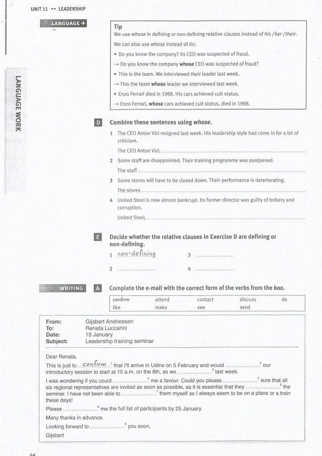 Market Leader Pre-Intermediate - Test File