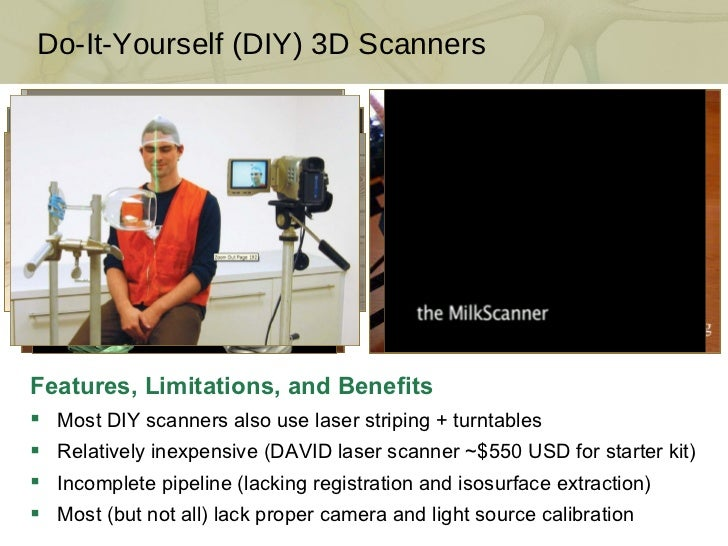 Build your own 3d scanner introduction do it yourself solutioingenieria Image collections
