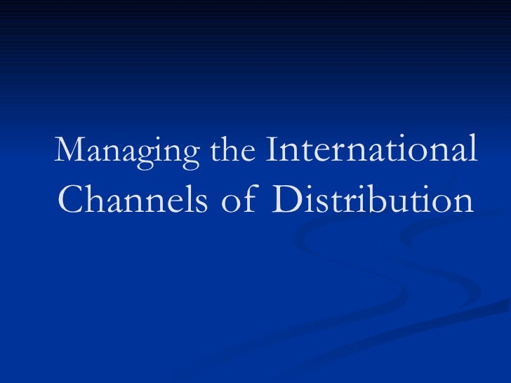 channel structure and strategic choice in distribution channels essay Channels of distribution 1 channels of distribution – article review #2 katarina mikalacki marketing 421 doula zahropoulos october 06, 2004 channels of distribution 2 having access to good distribution is fundamental to good marketing business operators need to be able to deliver their products and services to the right people, at the right time, in the right quantities, and at the lowest cost.