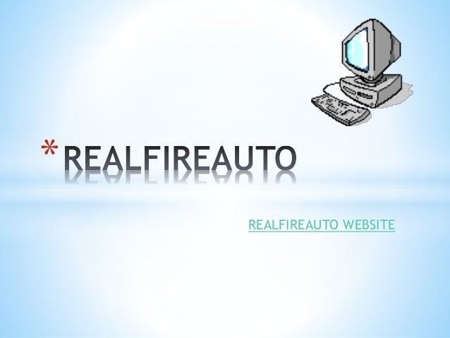 REALFIREAUTO WEBSITE *