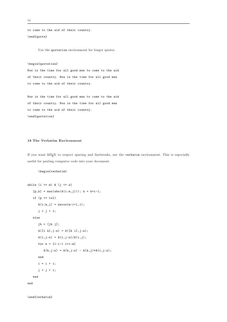 LaTeX – A document preparation system