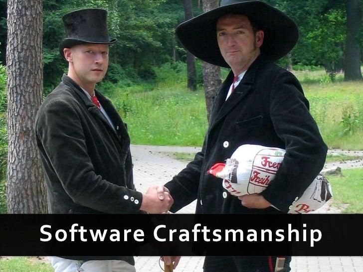 Software Craftsmanship<br />
