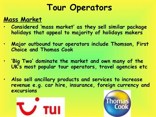 a description of the role of the tour operator in a package holiday trip That means, for example, the operator is liable if the quality of the service at a hotel in which the customer stays as part of the package fails to meet reasonable expectations, and automatically responsible for any accident which occurs during a camel ride arranged as part of the tour.