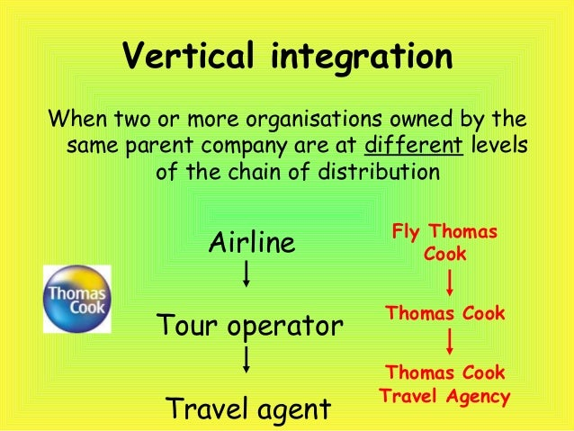 vertical integration in tourism