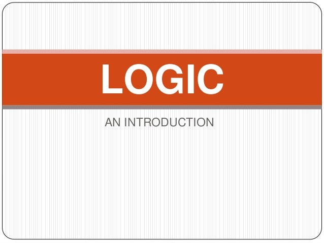 Introduction to logic ebook download
