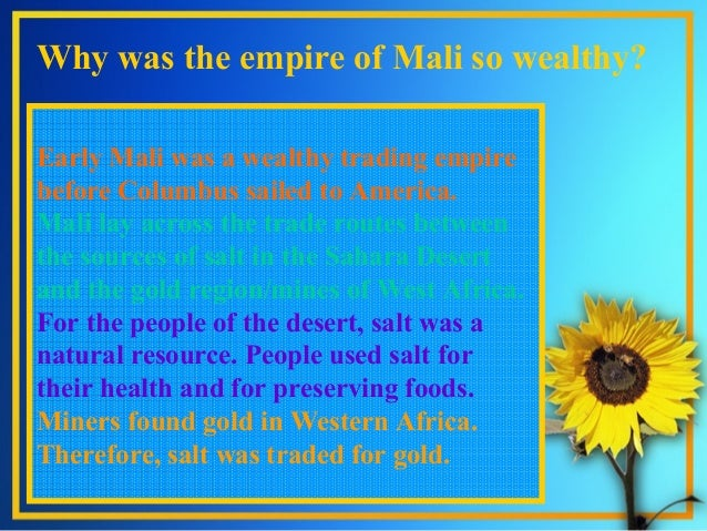 an introduction on the empire of mali Atlas of mali from wikimedia formerly french sudan, the country is named after the empire of mali short name the text of the introduction(s.