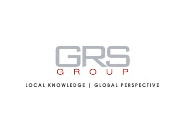grs-global.com GRS Group is a leading provider of commercial real estate services. • As a global affiliation of independe...