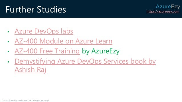 APPLYING DEVOPS STRATEGIES ON SCALE USING AZURE DEVOPS SERVICES Slide 2