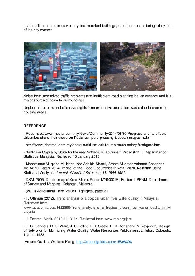 River pollution in malaysia essay