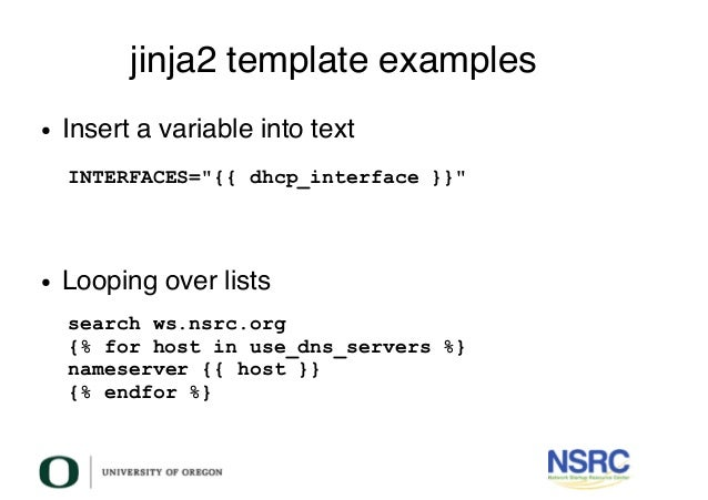 Configuration management in ansible 24 jinja2 template examples maxwellsz
