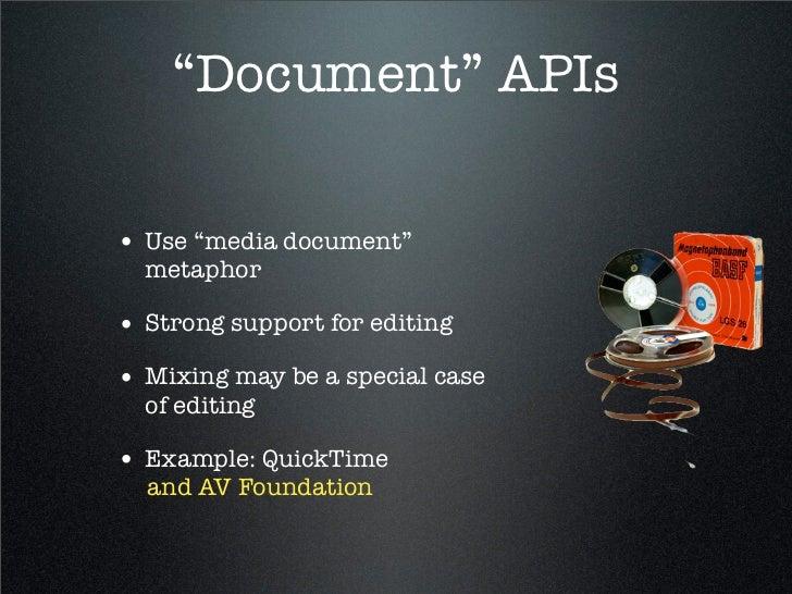 Introduction to AV Foundation