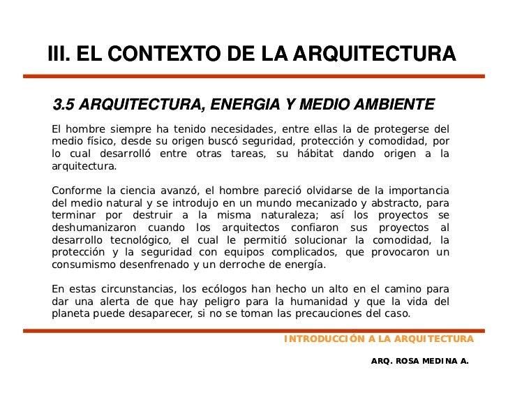 Introduccion a la arquitectura for Cual es el significado de arquitectura