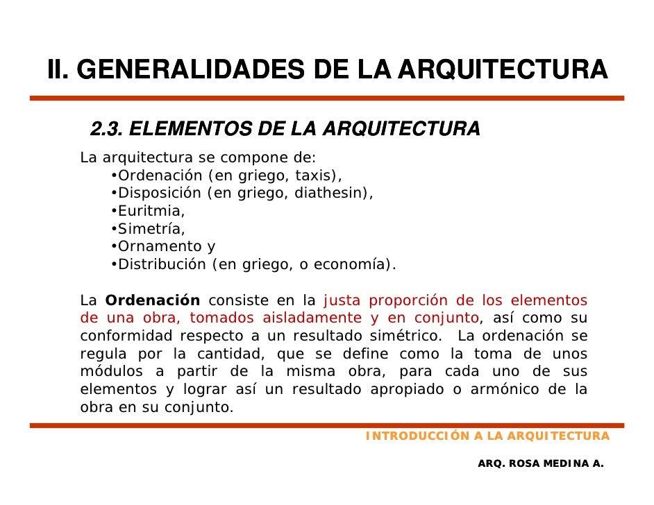 Principios de arquitectura for En que consiste la arquitectura