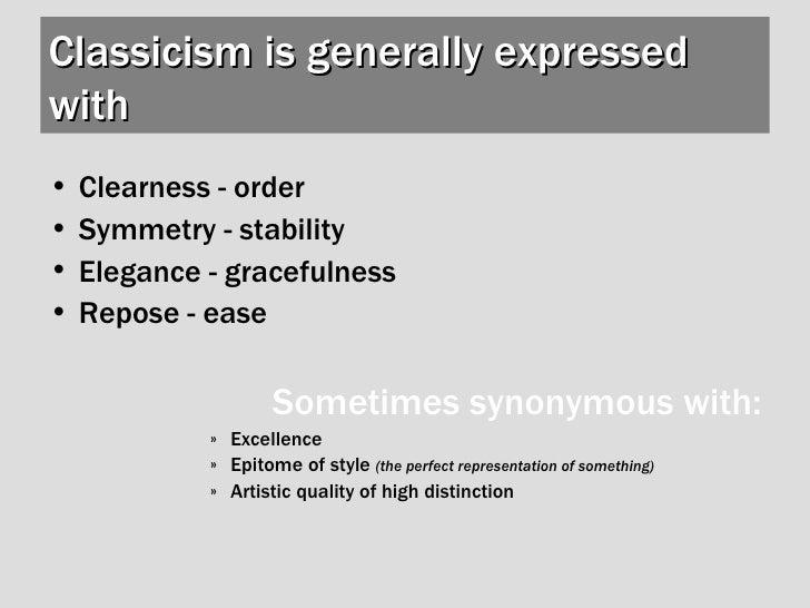 Intro Classicism Slide 3