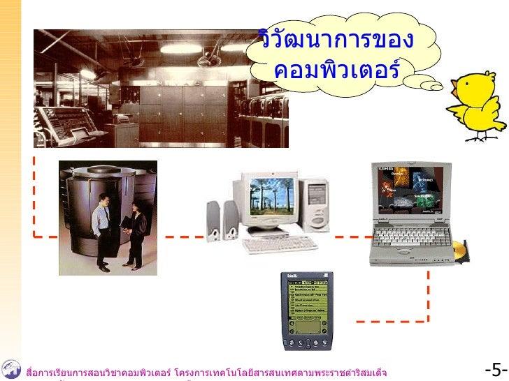 วิวัฒนาการของ คอมพิวเตอร์