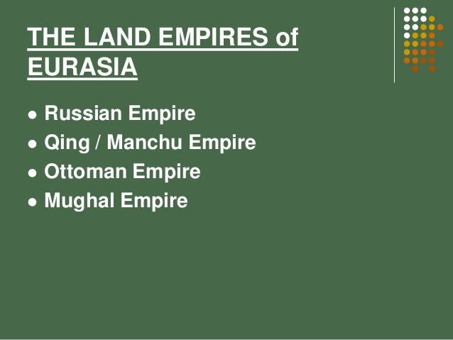 compare the spanish maritime empire and the russian empire Chapter 16: russia, central eurasia, china, japan, 1500- 1700: centralization and commercialization peter c  in the wake of the disintegration of the mongol empire.