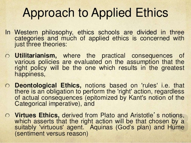 deontological values article rubric