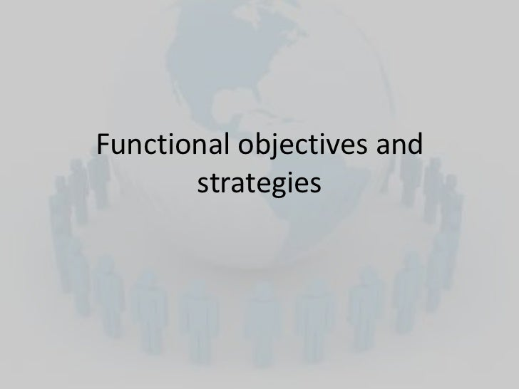 Intro financial objectives