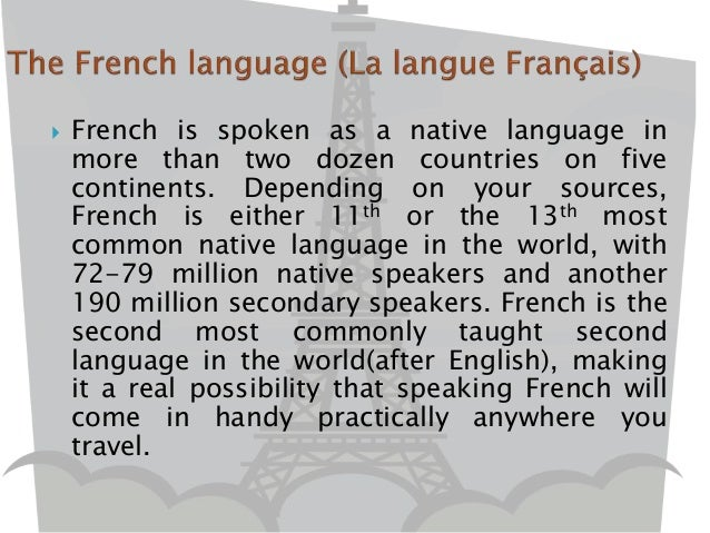 Http Www Slideshare Net Jdrillo Introduction To French Language 55399104