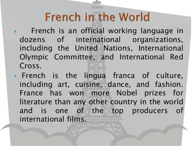 Introduction To French Language - Top international languages in the world
