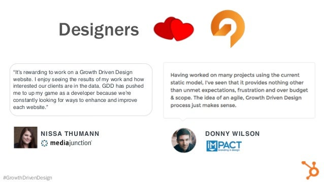 "NISSA THUMANN ""It's rewarding to work on a Growth Driven Design website. I enjoy seeing the results of my work and how int..."