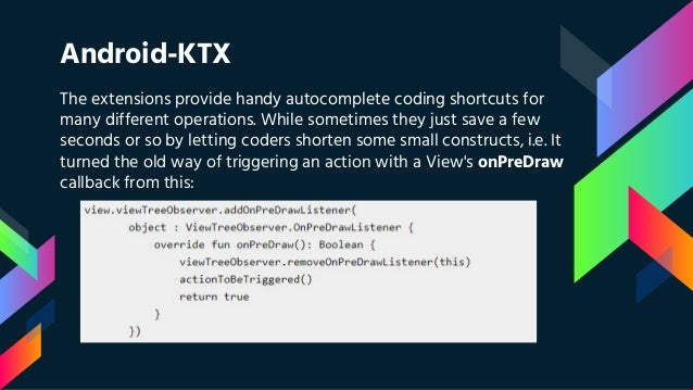 Introduction to Kotlin - Android KTX