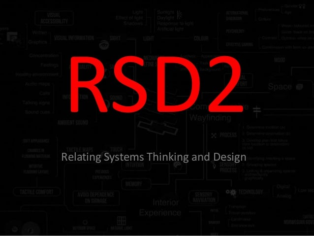RSD2 Relating Systems Thinking and Design