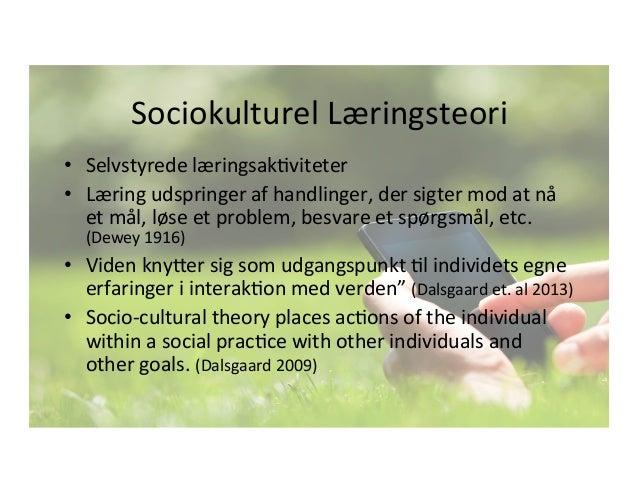 sociokulturel læringsteori