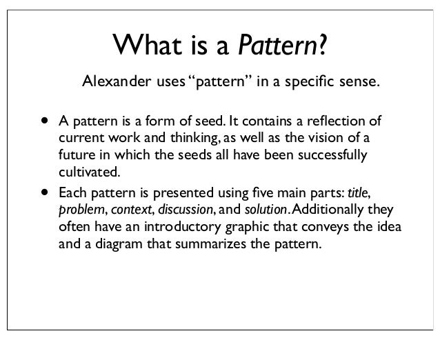 What Is Pattern