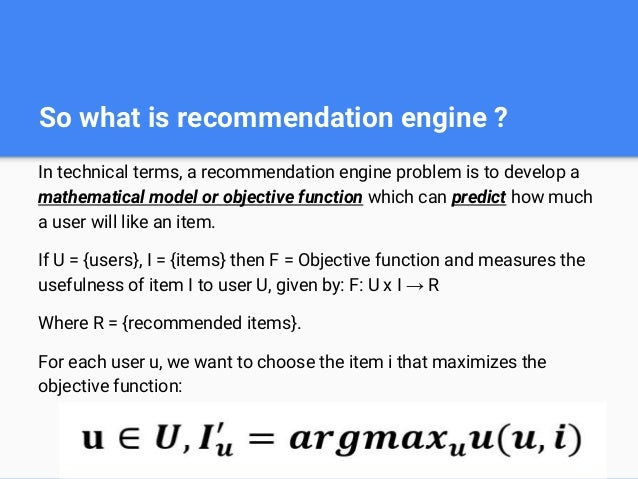 2 - How can we design recommendation systems?