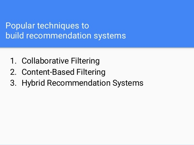 User-based Collaborative Filtering