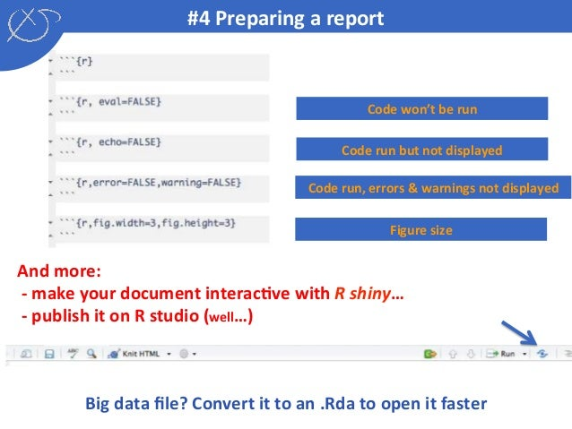 Introducing R Shiny and R notebook: R collaborative tools