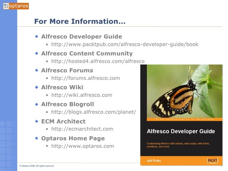 Intro To Alfresco Part 2