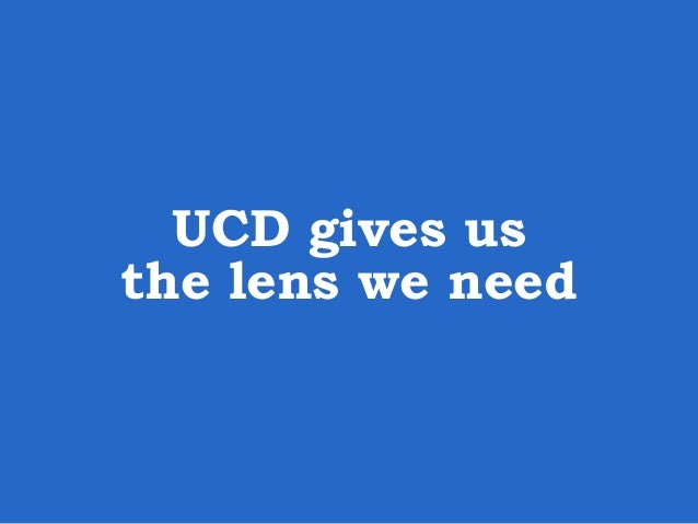 User-centered design (UCD) is a design philosophy that puts the user of a product, application, or experience, at the cent...