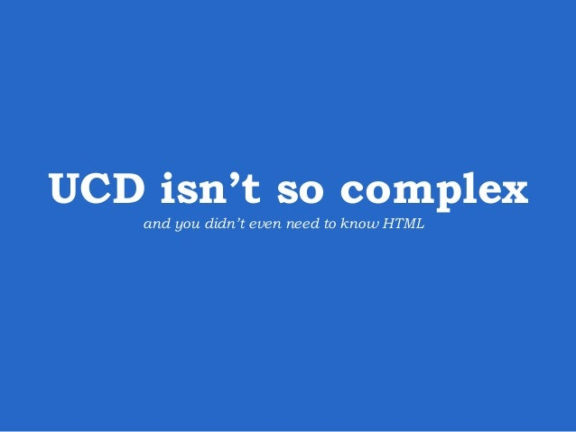 UCD Step 2:  Create concepts define  deploy  develop  users  concept  design