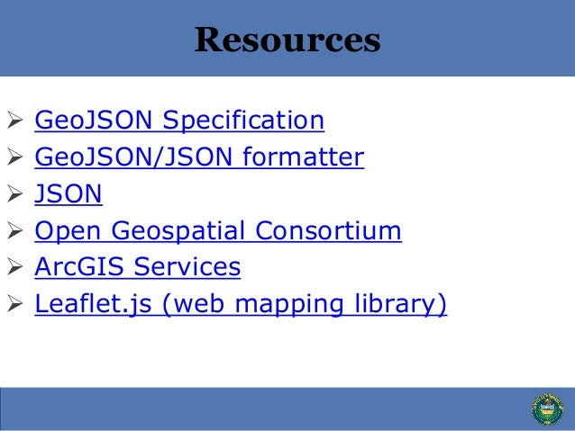Intro To GeoJSON