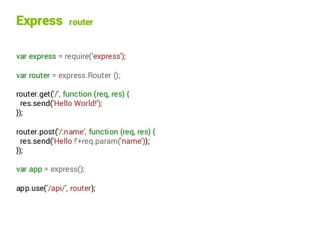 Introduction to REST API with Node js