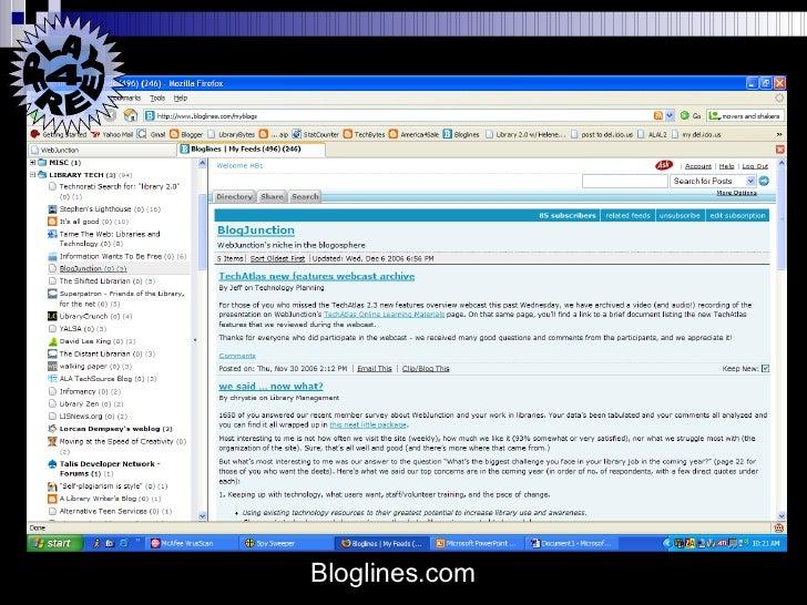 Bloglines.com PLAY 4  FREE