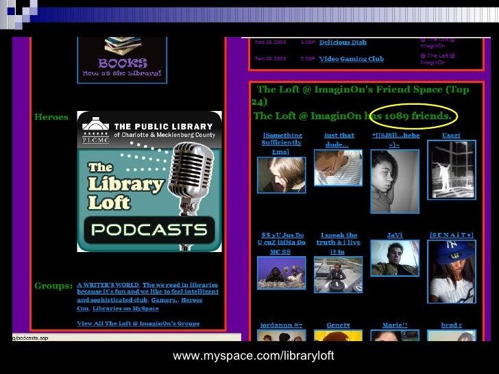 www.myspace.com/libraryloft