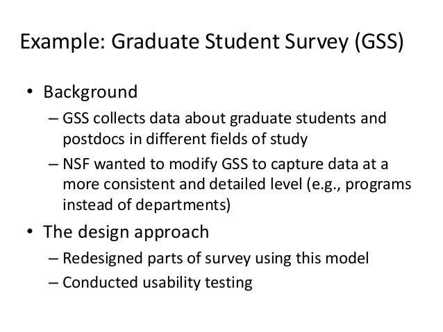 Introduction To Usability Testing For Survey Research
